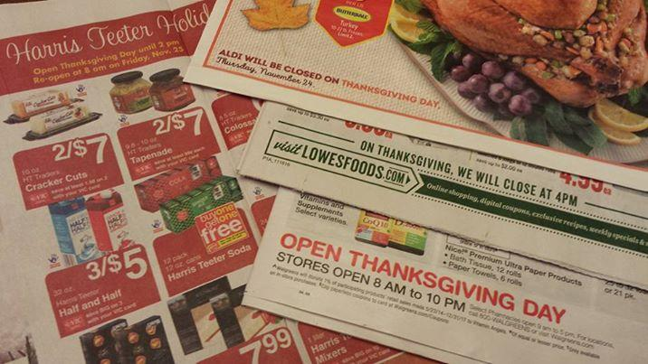 Thanksgiving Day hours for grocery & drug stores :: WRAL.com