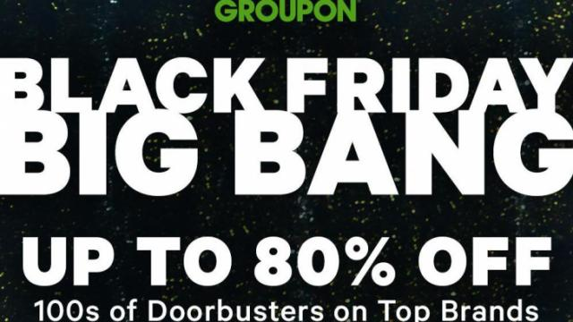 Groupon Black Friday deals