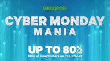 IMAGE: Groupon Cyber deals starting Sunday: Up to 80% off