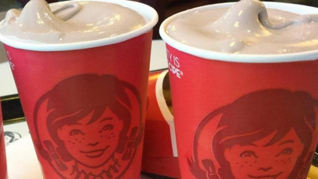 Wendy's Frosty treat