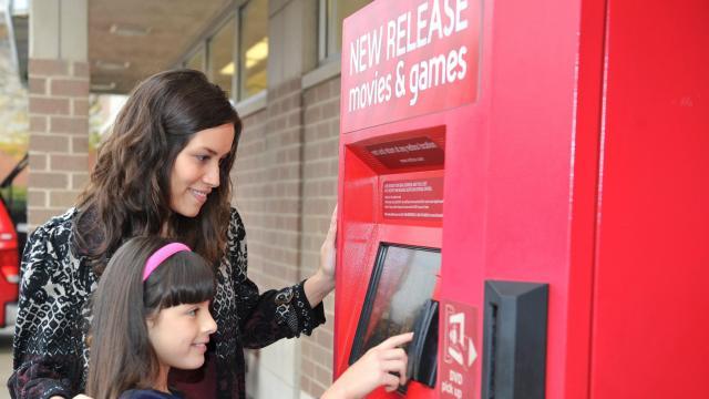 Redbox Kiosk (photo via Redbox.com Media)