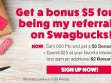 Swagbucks December Referral Bonus