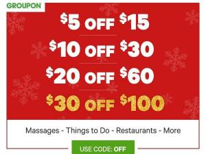 Groupon Buy More Save More