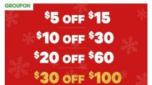 IMAGE: Groupon Buy More Save More through 12/6