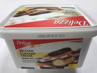 Delizza Mini Eclairs