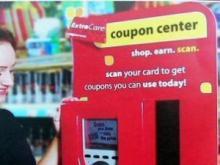 CVS coupon kiosk