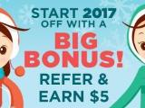 Swagbucks Refer & Earn January 2017
