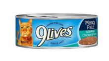IMAGE: RECALL: 9Lives, EverPet canned cat food