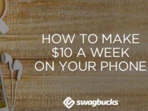 Earn gift cards with the Swagbucks Mobile App