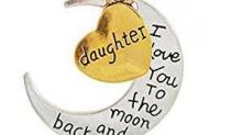 IMAGE: I Love You to the Moon and Back necklace $7.49