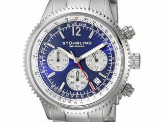 Stuhrling Original Men's Monaco Stainless Steel Watch