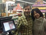 James and Annie Johnston, Whole Foods Shopping Spree winners