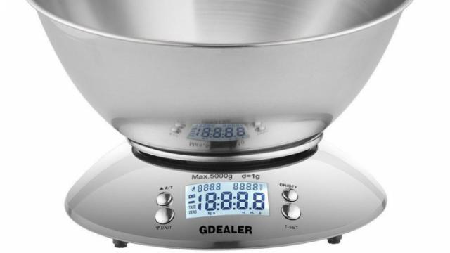 Digital Stainless Steel Kitchen Scale