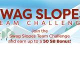 Swagbucks Swag Slopes Team Challenge
