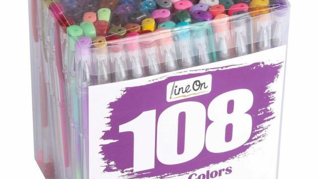 Gel Pen Set 108 count