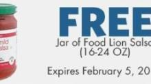 IMAGES: FREE salsa from Food Lion!