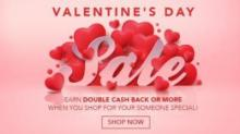 Swagbucks Valentine's Day Double Cash Back Offer