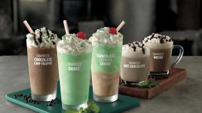 McDonald's Shamrock Shakes