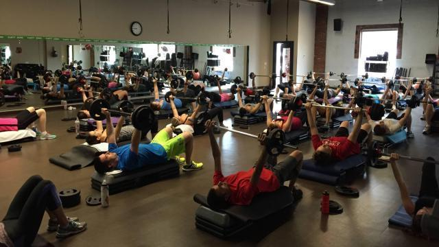 O2 Fitness Clubs class