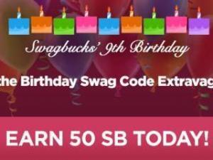 Swagbucks Birthday Edition Swag Code Extravaganza