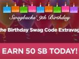 Swagbucks Birthday Edition Swag Code Extravaganza