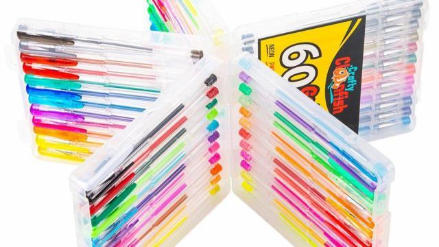 Gel Pen Set with 60 pens