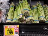 Asparagus sale at Harris Teeter