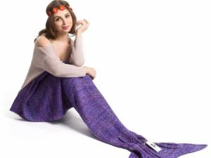 Mermaid Blanket Tail for Kids and Adults