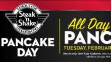 IMAGES: Steak 'n Shake: FREE Pancakes today!