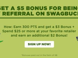 Swagbucks March Referral Bonus