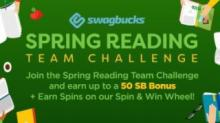 Swagbucks Spring Reading Team Challenge