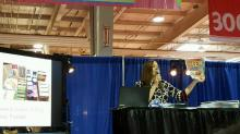 Teaching at the Southern Women's Show in 2016