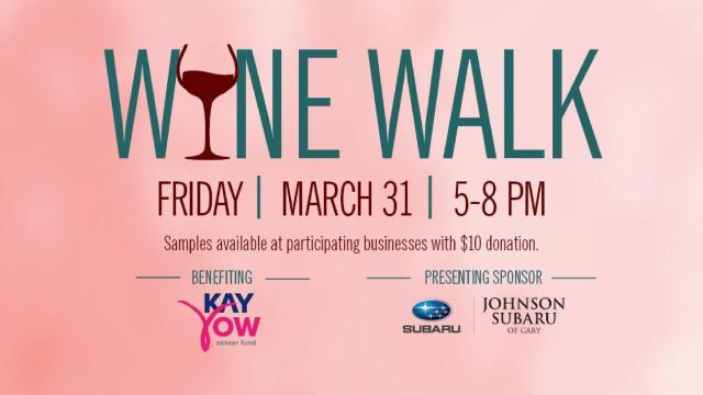 Waverly Place Wine Walk Flyer