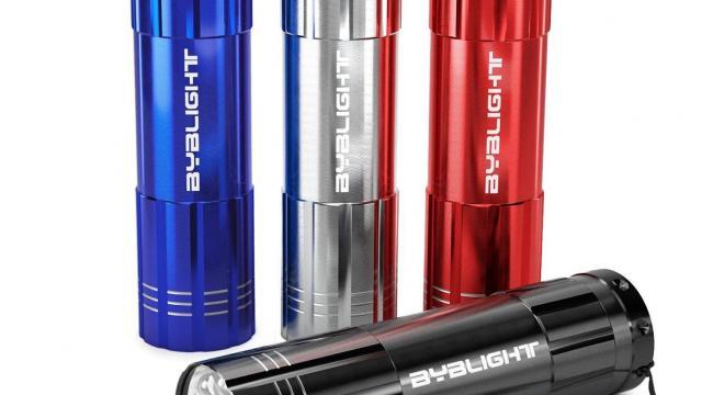Super Bright 9 LED Mini Aluminum Flashlights