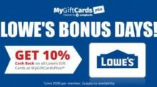 IMAGE: Lowe's Gift Card Offer  - SOLD OUT