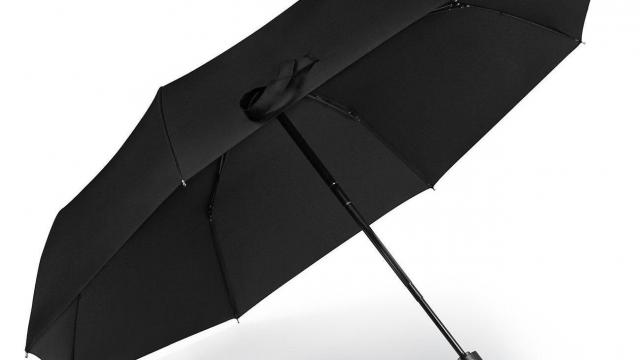 One touch travel umbrella