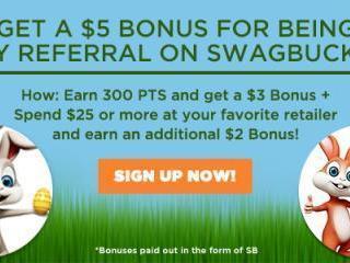 Swagbucks April Bonus