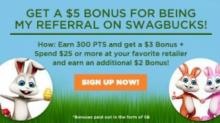 IMAGE: $5 bonus when you join Swagbucks