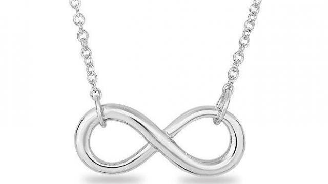 Sterling Silver Infinity Symbol Necklace