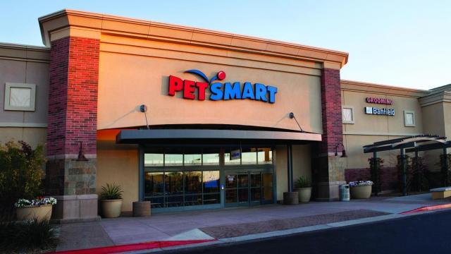 PetSmart store front