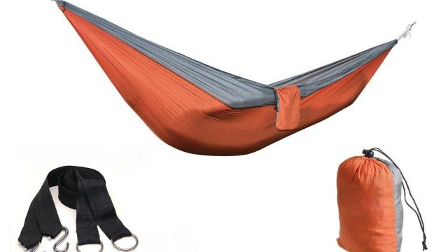 4ucycling Portable Parachute 2-Person Hammock