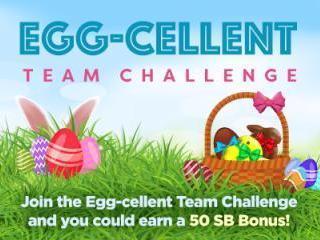 Swagbucks Egg-cellent Team Challenge