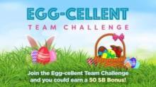 IMAGE: Swagbucks Egg-cellent Team Challenge starts Monday