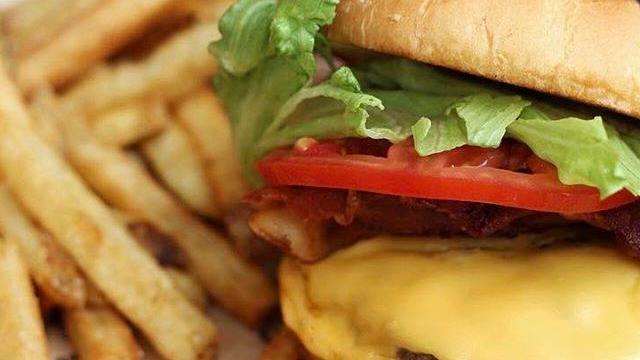 BurgerFi burger courtesy of BurgerFi Facebook page