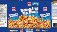 IMAGE: RECALL: Harris Teeter frozen hash browns recalled due to golf balls