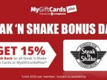 Steak 'N Shake Gift Card Offer