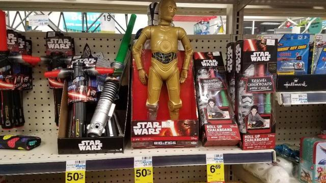 CVS Star Wars clearance