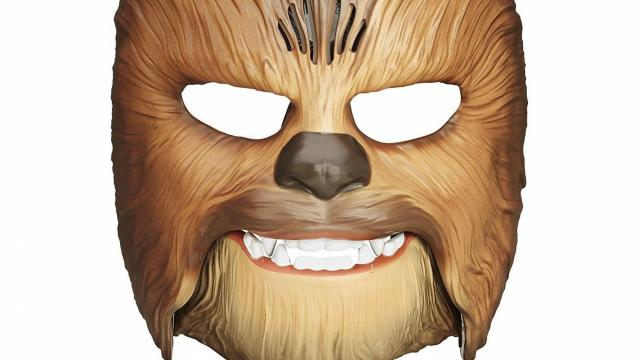 image regarding Printable Star Wars Mask identified as Star Wars Chewbacca Roaring Mask Sale ::