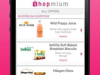 Shopmium app