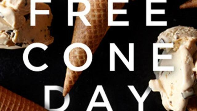Haagen-Dazs Free Cone Day (photo courtesy of Haagen-Dazs Facebook page)